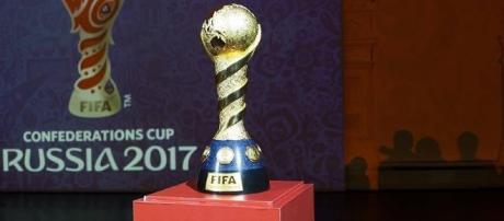 El trofeo que se entregará al ganador de la Copa Confederaciones FIFA 2017