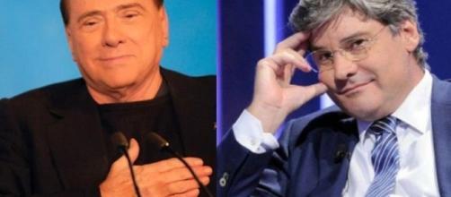 Berlusconi interviene a Quinta Colonna per aiutare un uomo in difficioltà