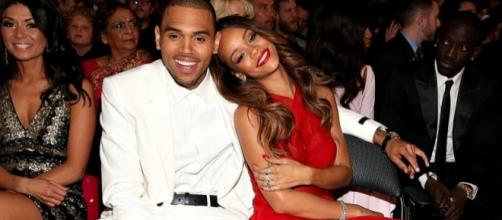 Chris Brown with Rihanna. Credits: Flickr.com Creative common