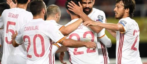 España se enfrentó a Macedonia en uno de los partidos de clasificación del Mundial de Rusia 2018