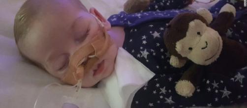 Il piccolo Charlie Gard affetto da una rara malattia genetica. Strasburgo chiede di non staccare la spina - foto CNN