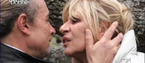 Marco Firpo e Gemma Galgani, bacio.