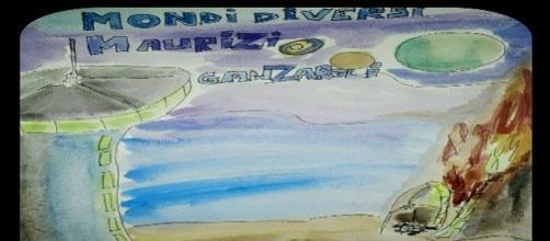 """Maurizio Ganzaroli, """"Mondi Diversi"""", cover eBook da Amazon.it"""