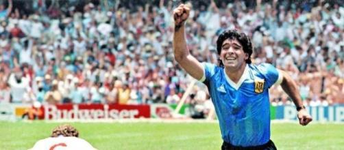 PES 2018 recreó el Gol a los Ingleses de Maradona
