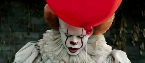 "Photo screen capture of ""It"" character via YouTube / FilmSelect Trailer"
