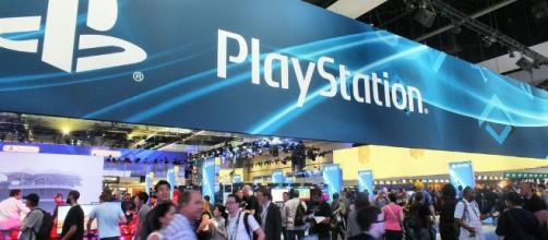 Playstation Logo in E3 conference (Flickr)