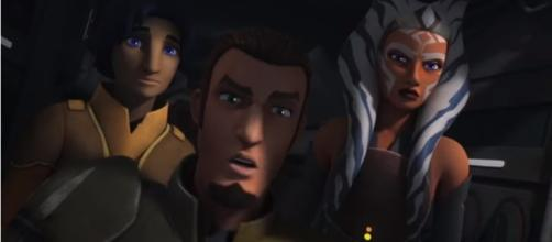 Star Wars Rebels Ezra,Kanan and Ahsoka Arrive on Malachor HD - Video Clips HD/YouTube