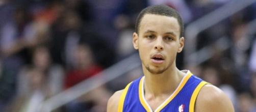 Stephen Curry has captured his second NBA title in three seasons. [Image via Wikimedia Commons]
