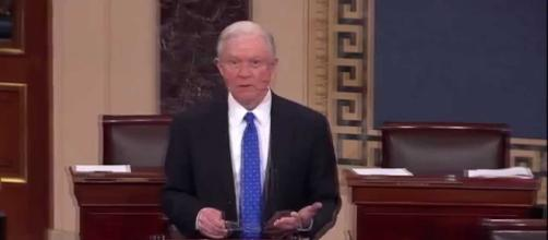 Tough questions are expected to be asked to AG Jeff Sessions. Photo via Western Journalism, YouTube.