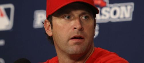 St. Louis Cardinal of current Major League Baseball's manager Mike Matheny