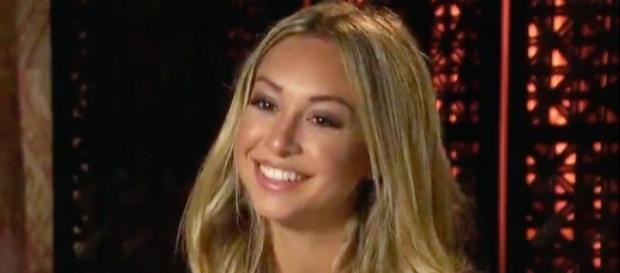 Corinne on 'Bachelor' screenshot