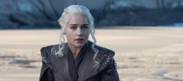 Daenerys Targaryen in una scena inedita della settima stagione