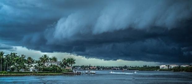 El paso de la tormenta Calvin en las costas de México