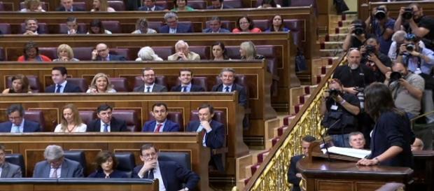 Moción de censura de Podemos a Mariano Rajoy