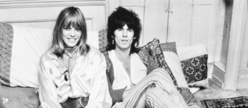 Anita Pallenberg e Keith Richards dei Rolling Stones