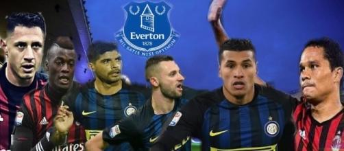 Calciomercato: 6 gli obiettivi milanesi dell'Everton