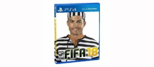 Cristiano Ronaldo en caratula de juego de fútbol