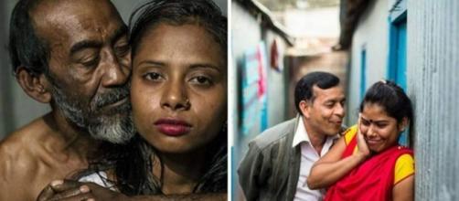 Fotos chocantes revelam a vida de uma casa de prostituição.