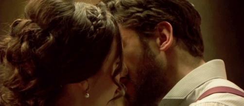 Il Segreto: momento bollente tra Hernando e Camila