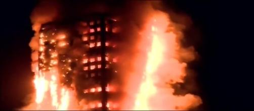 Imagen del incendio de Londres. Autor: YouTube con Licencia Creative Commons
