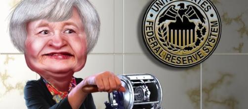 Janet Yellen Credits:flickr https://www.flickr.com/photos/donkeyhotey/10547392033