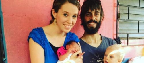 Jill and Derick Dillard photo via Derick Dillard/Twitter