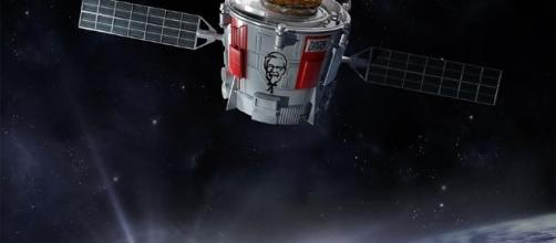 KFC Zinger into space - flipboard.com