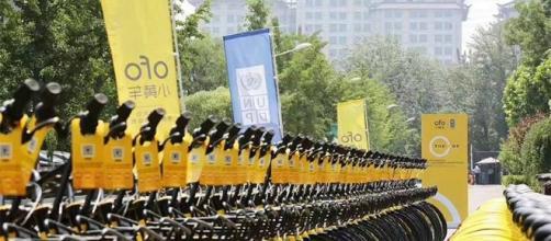 La battaglia fra i maggiori aziende di Bike Sharing in Cina è già molto feroce