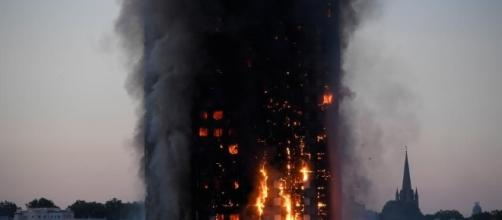 'Major Incident': London Apartment Tower Erupts in Flames