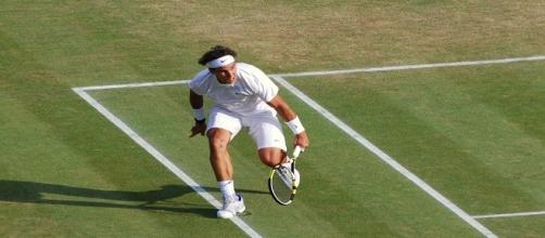 Nadal during 2011 Wimbledon/ Photo:Carine06 via Flickr CC BY-SA 2.0