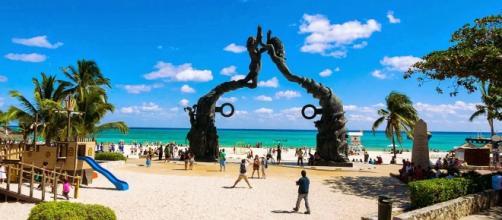 Parque Fundadores en Playa del Carmen