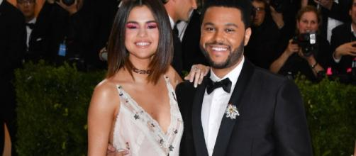 Selena Gomez Feels Like Herself With The Weeknd - elle.com