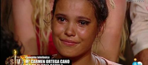 Supervivientes' informa a Gloria Camila del nacimiento de la ... - bekia.es