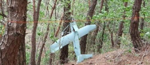 Suspected North Korean drone found crashed in woods, thought to be on a spying mission ... - mirror.co.uk