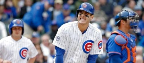 Why does Anthony Rizzo get hit by so many pitches? | Sports on Earth - sportsonearth.com