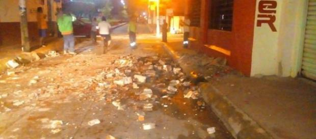 Daños del sismo. www.alertachiapas.com