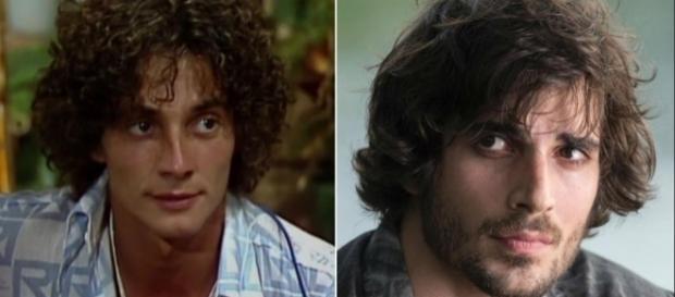 Eles são idêntico aos seus pais quando eles eram jovens: Fábio Jr. e Fiuk