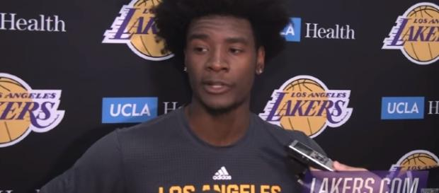 Josh Jackson Pre-Draft Interview for the Lakers/ NBA Center Youtube