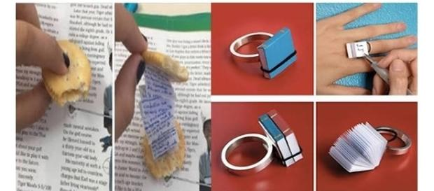 Maneiras criativas que alunos encontraram na hora de colar em provas