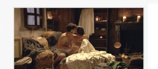 Matias e Beatriz diventano amanti