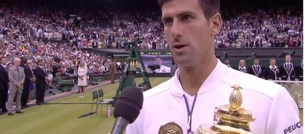 Novak Djokovic - Wimbledon/Youtube