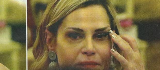 Simona Ventura triste: in lacrime a cena con Gerò Carraro - leggo.it