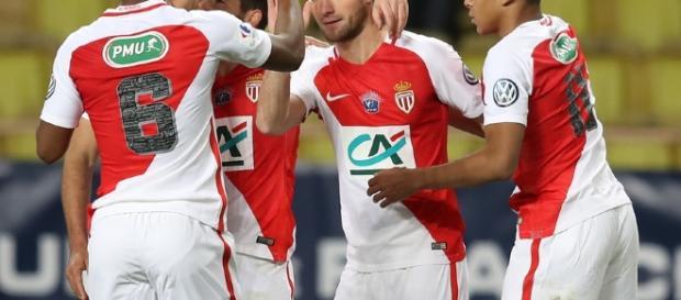 Valère Germain - Joueur de l'AS Monaco