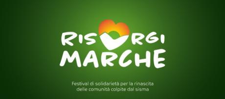 Il logo ufficiale di RisorgiMarche - google.com