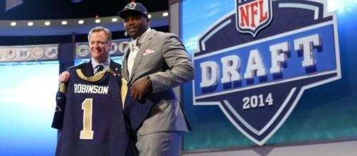 2014 NFL Draft: St. Louis Rams select Greg Robinson - nflspinzone.com