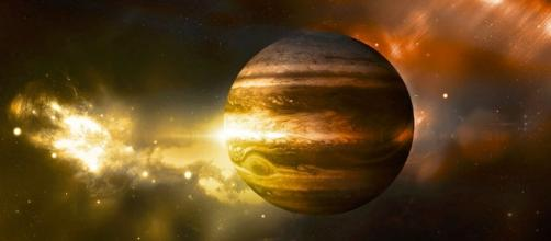 An artist's rendering of Jupiter/ by Ukstillalive/ CC BY-SA 4.0 Wikimedia