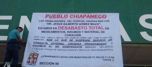 Desabastos de medicamentos en Chiapas https://www.alertachiapas.com
