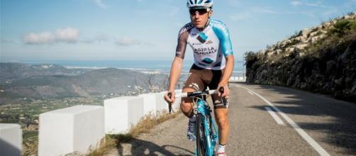 Domenico Pozzovivo, corridore lucano della Ag2R La Mondiale, è impegnato nel Giro di Svizzera