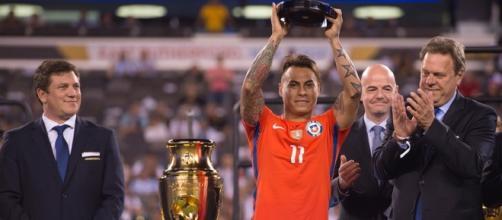 Eduardo Vargar coronado como goleador de la Copa América 2015