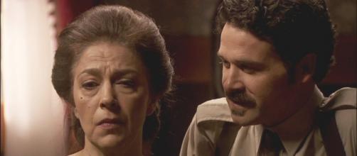 Francisca rinchiude Cristobal nelle segrete della villa